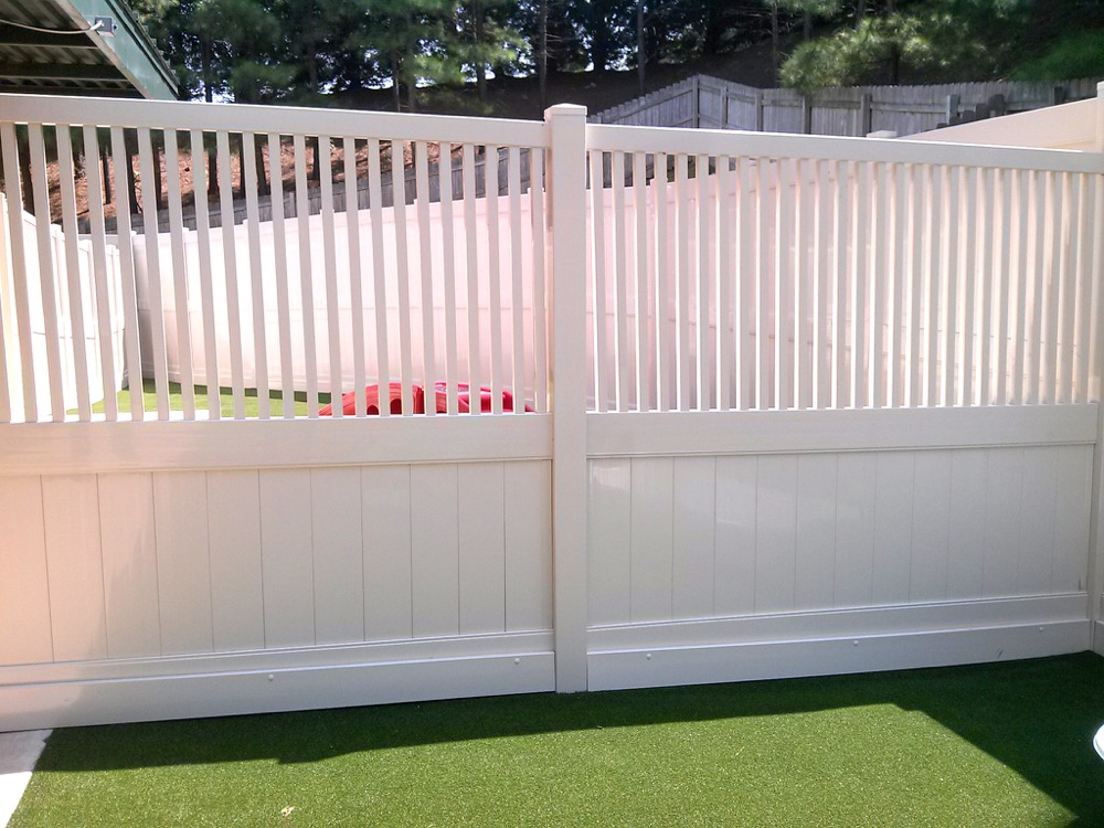 Choose a vinyl privacy fence for your home.