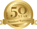 We offer a 50 year standard warranty for vinyl decking in Atlanta.