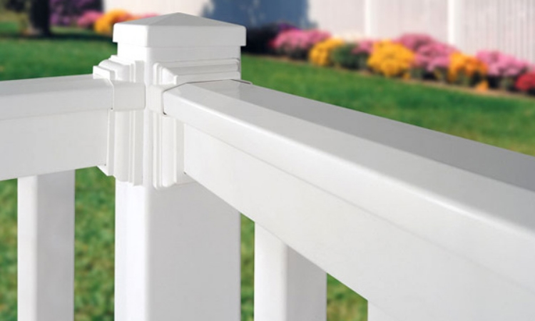 No maintenance with pvc railing and spindles